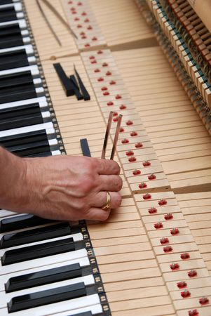 Piano tuning photo