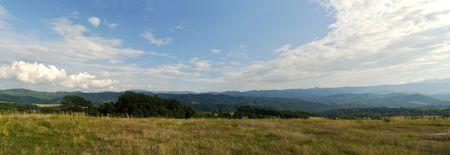 Beautiful mountain panorama.