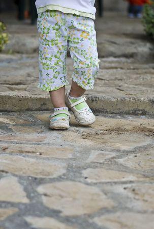 Little feets   Stock Photo