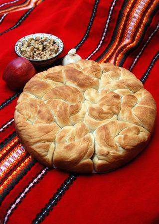 Home-made  bread photo