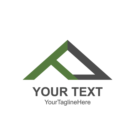 House roof and home logo vector element. 일러스트