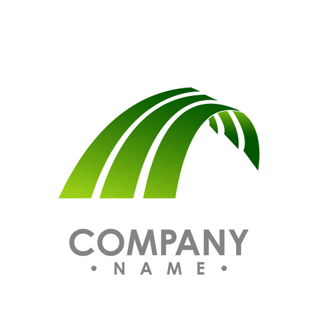 Vector wings logo . Winged logo company and icon wing flying vector design