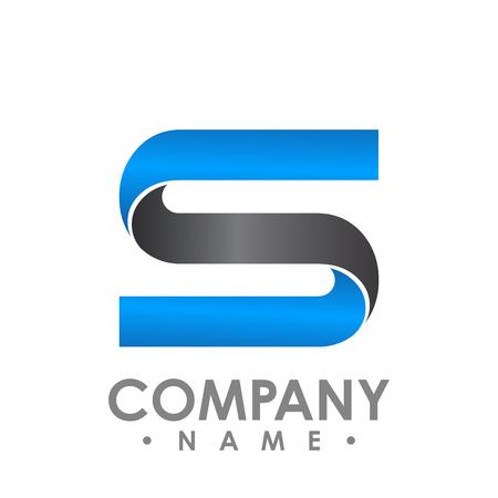 Letter S logo icon design template elements. Logo initial letter S. Business corporate letter S logo design vector
