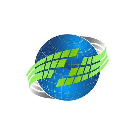 Logo de planète vectorielle. Vecteur d'orbite et logo Satellite. Logo du cosmos. Meilleur logo de la planète. Logo de concept de planète. Logo de la planète Web. Icône de la planète. Icône de l'application planète. Logo scientifique. Logo de la planète Logo