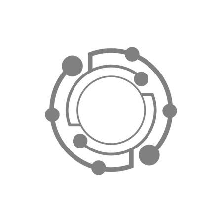 Vector Planet Icon Design. Banco de Imagens - 143647044