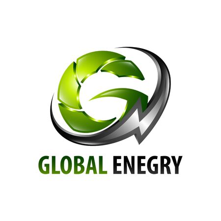 Global energy lightning initial letter G logo concept design template idea Banco de Imagens - 143647201
