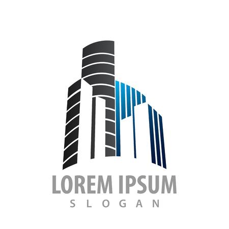 Building town construction concept design. Symbol graphic template element Banque d'images - 119812241