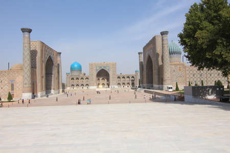 samarkand: Samarkand Registan TotalView Editorial
