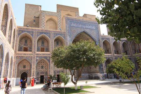 samarkand: Samarkand Registan Madrasa Ulugbeq Courtyard