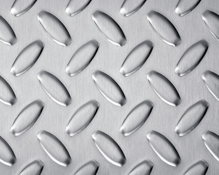 stainless steel background: bulge stainless steel texture background crop size Stock Photo