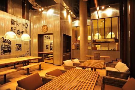 Industrial loft bar style Stock fotó