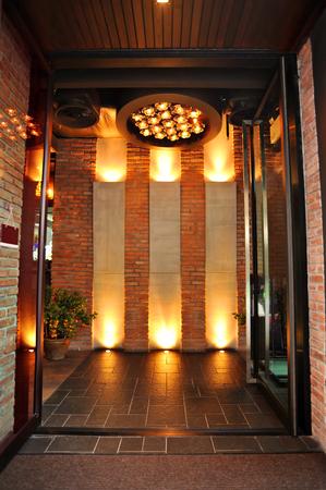 Front view of the loft bar Standard-Bild