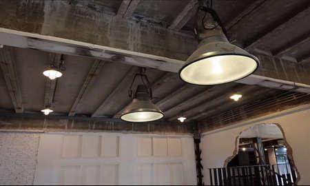 Industrial loft cafe & Studio Standard-Bild