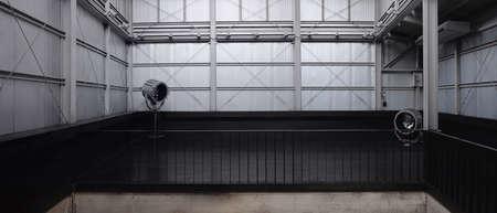 Industrial loft cafe & Studio Standard-Bild - 150629812
