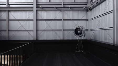 Industrial loft cafe & Studio Standard-Bild - 150630136