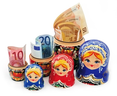 Euros - Matryoshka gifts photo