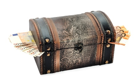 handmade jewelry box for storing valuables photo