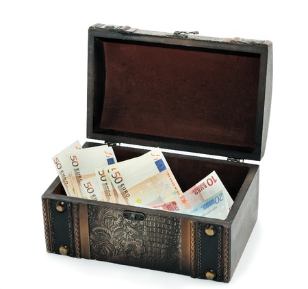 handmade jewelry box for storing valuables Stock Photo - 11663951