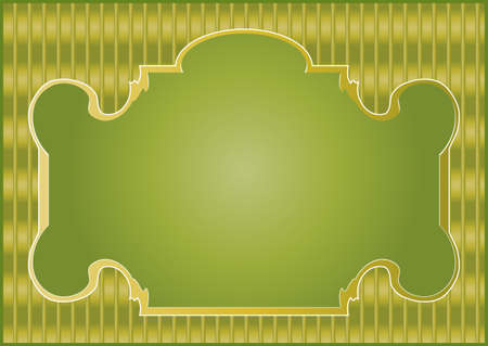A set of stylish frames for processing and decorating photos and pictures Vector