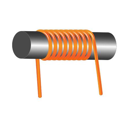 bobine d'inductance Vecteurs