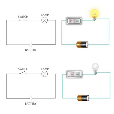 簡単な電気回路