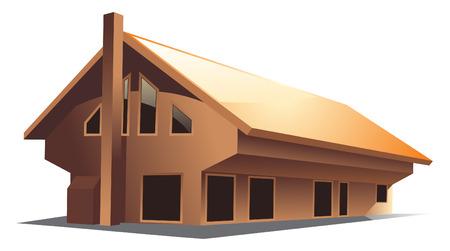 House (vector) Stock Vector - 5243520