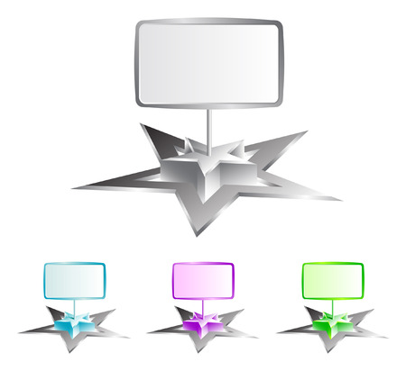 Star + board (vector)