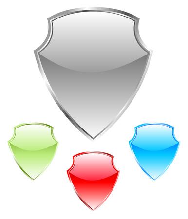 security company: Shield Illustration