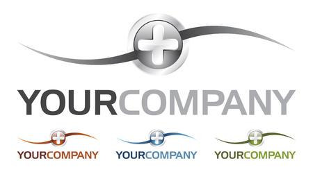 gu�rir: Heal logo (vecteur) Illustration