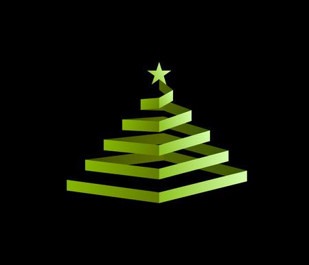 christmassy: Spiral Christmas Tree