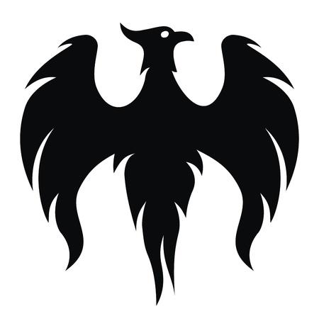 ave fenix: Alas de pájaro de Phoenix