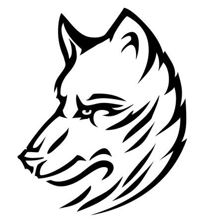 wolf cute  Stock Vector - 10200931