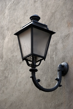 streetlamp: Old vintage lamp Stock Photo