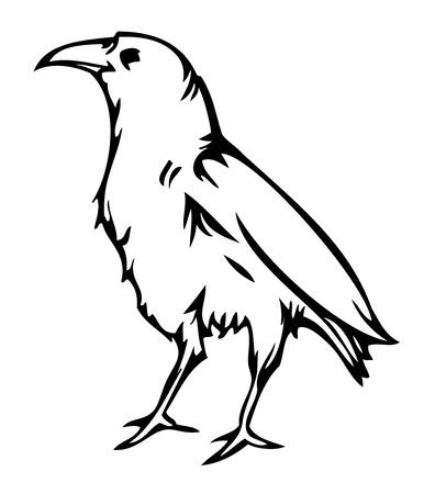 harbinger: Crow raven