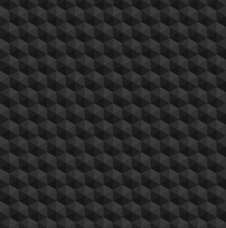 Dark grey tones color palette in shape of hexagon pattern/texture.