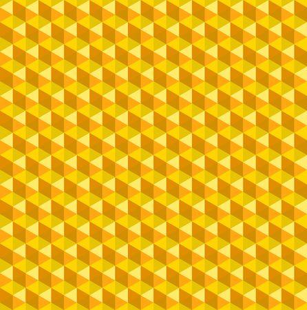 Gold Hexagon Pattern Texture Vector 向量圖像