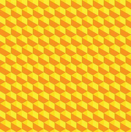 Golden Hexagon Pattern Texture Vector
