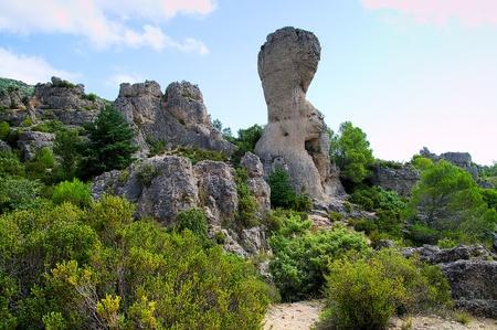 ze: Cirque de Mour�ze rocky mountains in France