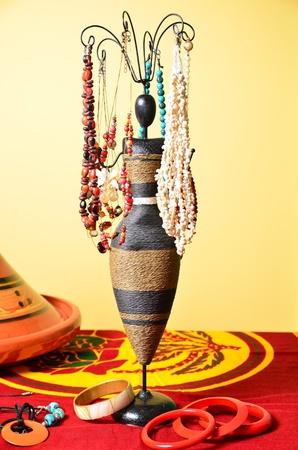 宝石は、エキゾチックな宝石アフリカ スタイル