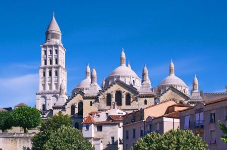 Périgueux, Cathedral of Saint Front,Dordogne, Périgord, France Stock Photo