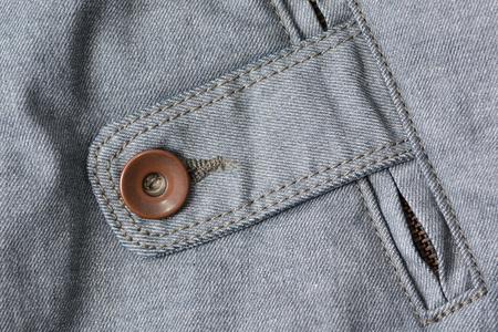 denim fabric: Detail of blue denim fabric, background