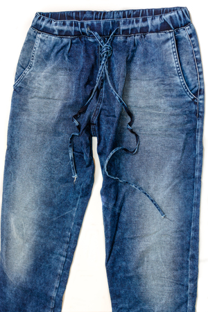 Casual blue jeans denim trousers