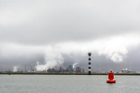 Hoek van Holland, entrance of port of Rotterdam, Netherlands