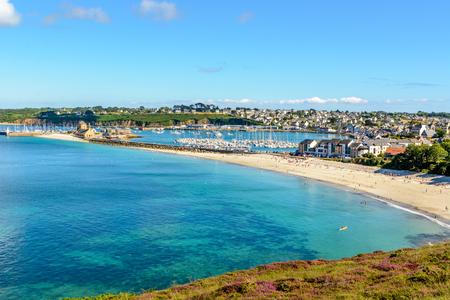 Port of Camaret sur Mer in Finistere, Brittany, France