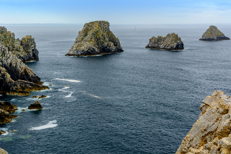 Points of Pen-Hir, Presque ile de Crozon, Finistere, France