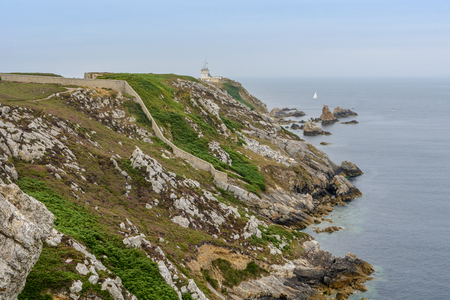 A walk on the cliffs around Camaret, Presqu-il de Crozon, Brittany, France