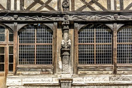 ルーアン、フランスで聖 Maclou の Aitre 写真素材