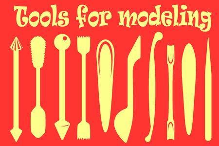 Tools for modeling Çizim