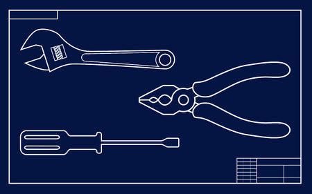 impact wrench: Drawing instruments set