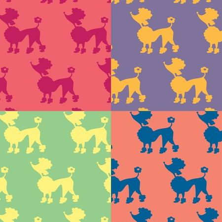 Animal cartoon pattern Illustration